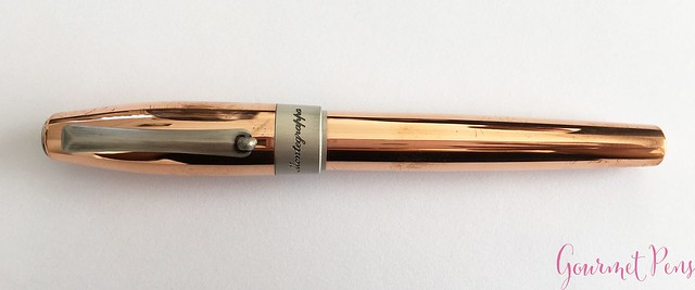 Review Montegrappa Fortuna Copper Mule Fountain Pen @PenChalet @Montegrappa 1912 5
