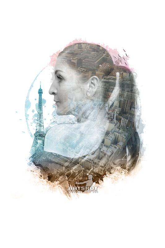 Paris - Double Exposure