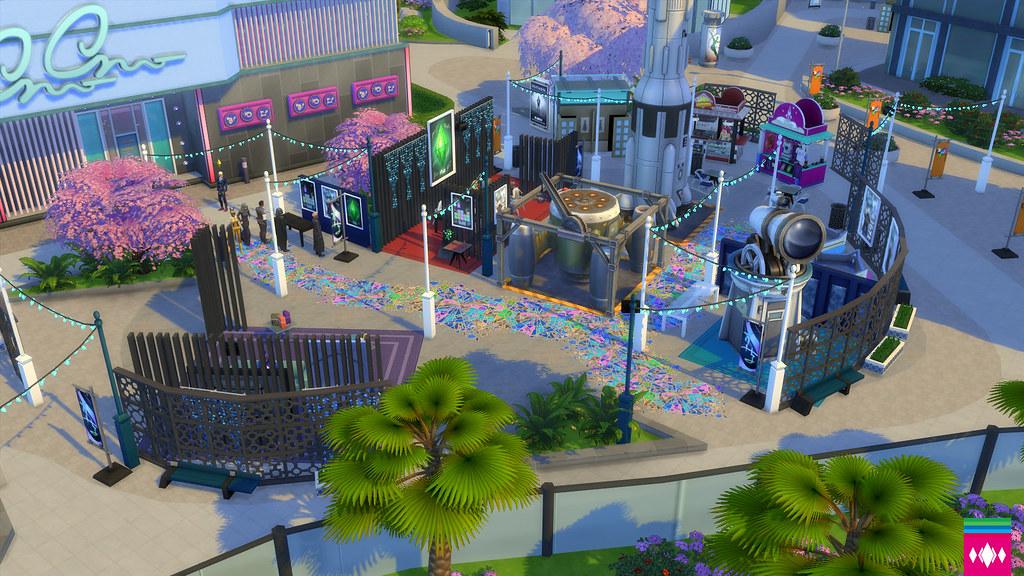 FrikiCon en Los Sims 4 Urbanitas