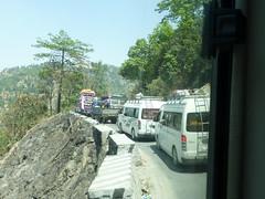 Im Stau nach Kathmandu