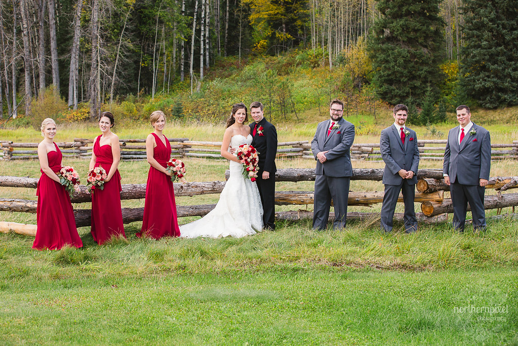 Bridal Party - Huble Homestead Wedding