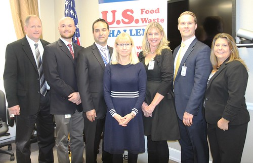 Left to right: Bruce Summers, Associate Administrator, Agricultural Marketing Service and others