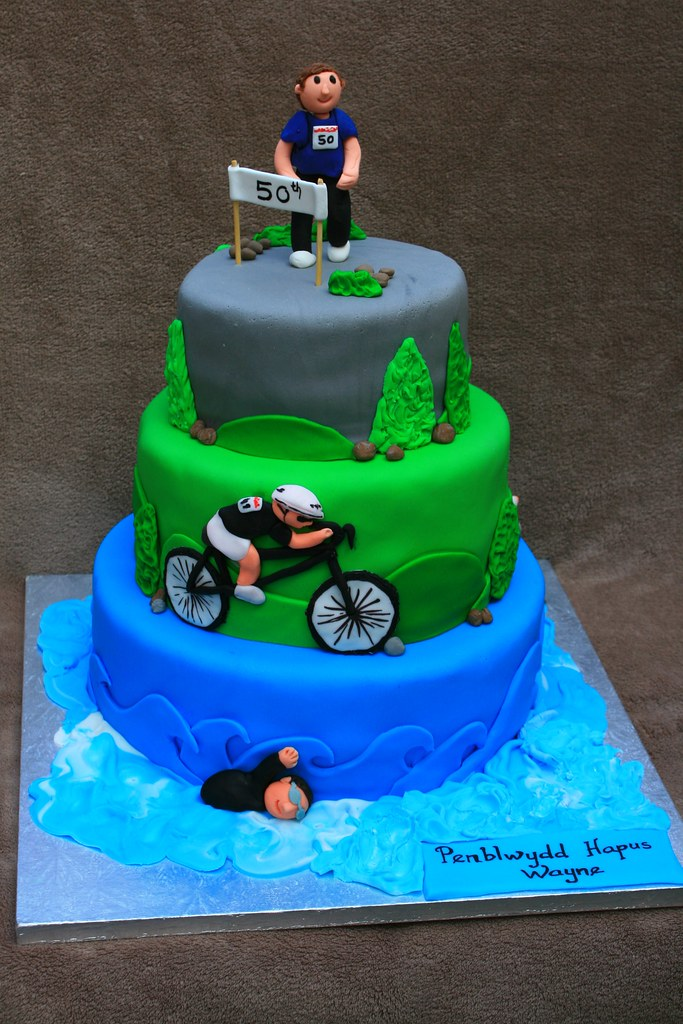 Triathlon Cake Eldriva Flickr