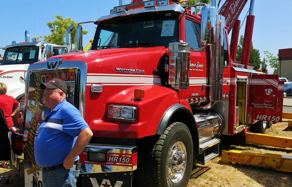 2012 western star 4900sa tow truck jamie davis motor tru for Jamie davis motor truck