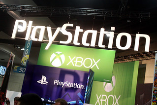 Playstation & Xbox booth | by Gage Skidmore