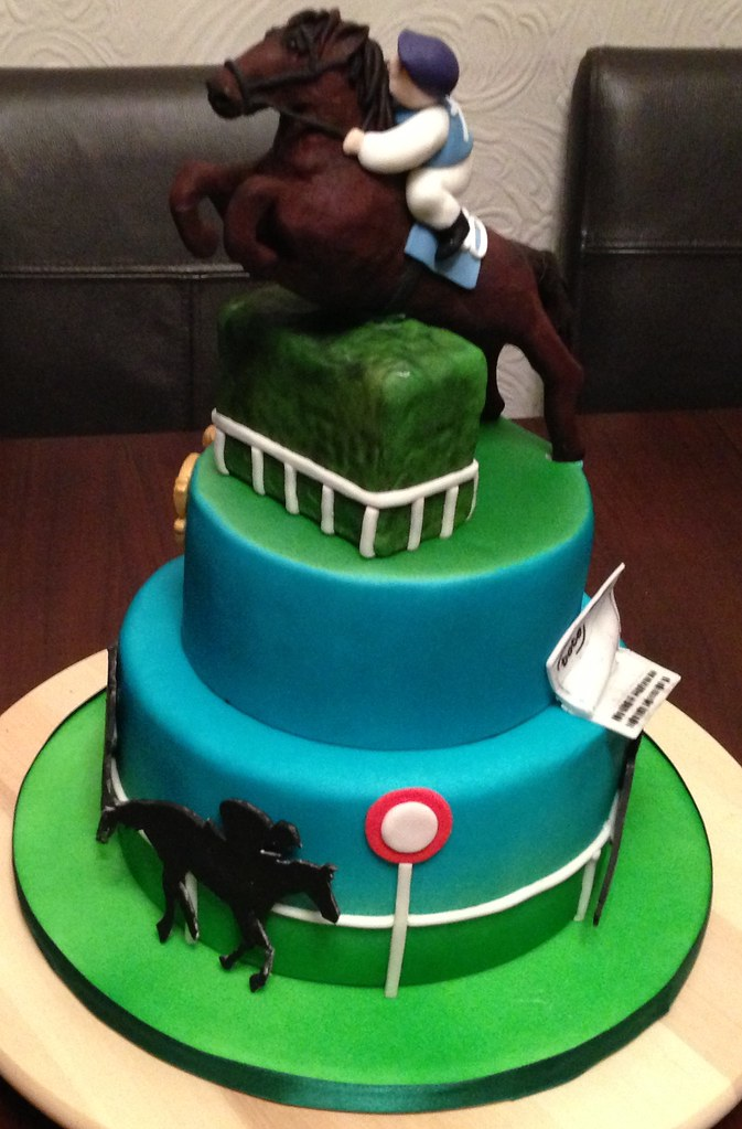 horse racing cake Dennibel Flickr