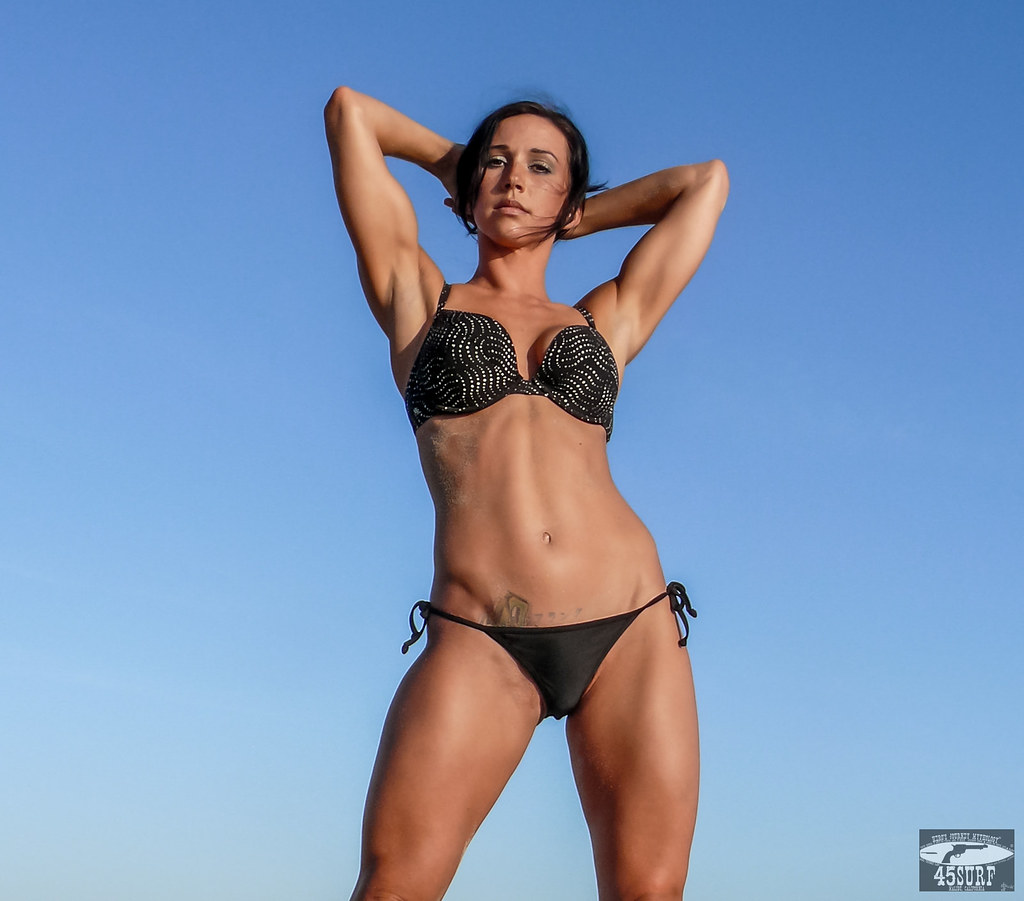 Brunette Swimsuit 48