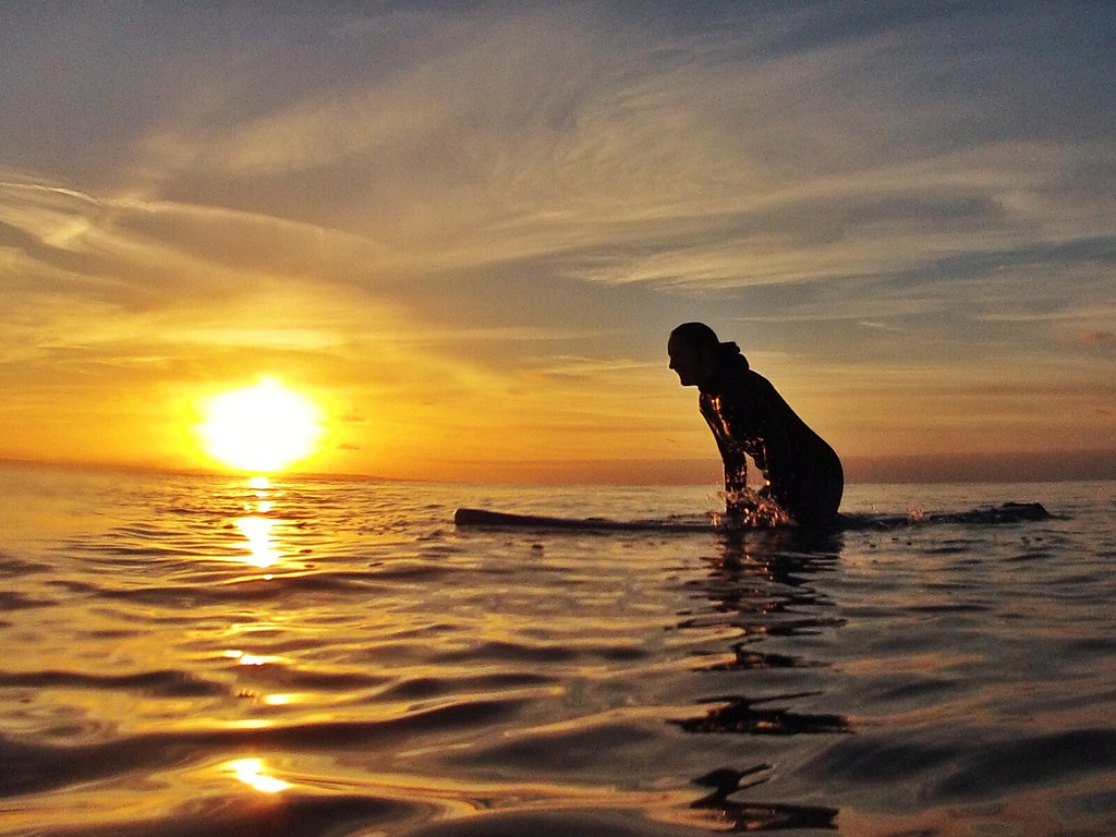 Sunset Surf | Dcim\100gopro | Gareth Beynon | Flickr Vintage Camera Backgrounds