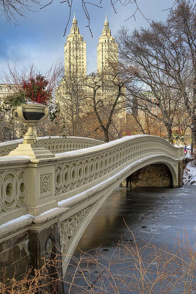 Bow Bridge, Central Park. New York City.