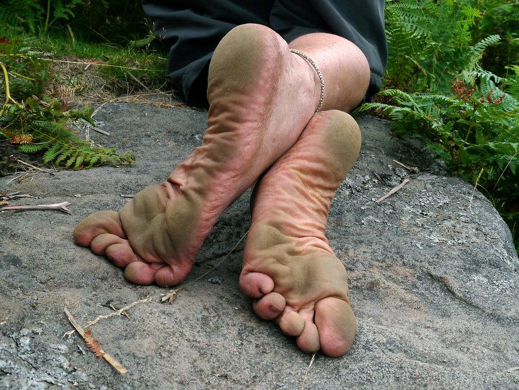 Dirty Feet For Foot Worship And Foot Fetish Freaks - Cuckold Husband Feet Worship Pov-9456