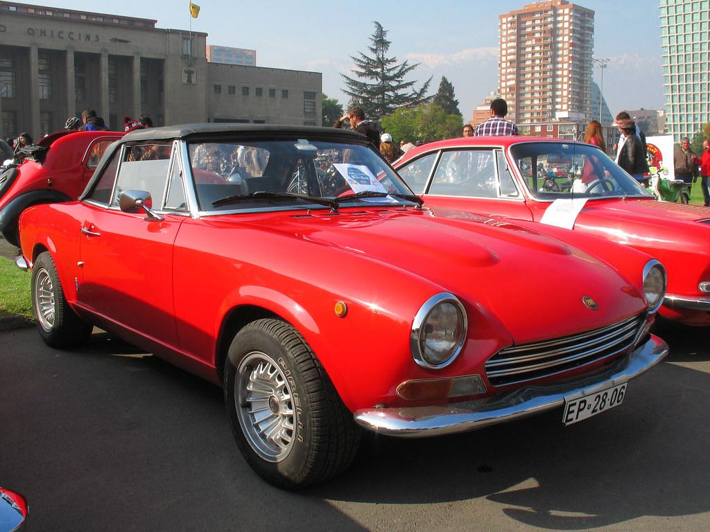 Fiat 124 Sport Spider 1968 Rl Gnzlz Flickr