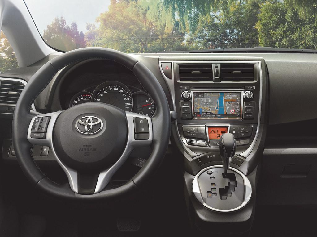 Toyota Verso S 2014 Interior Toyota Motor Europe Flickr