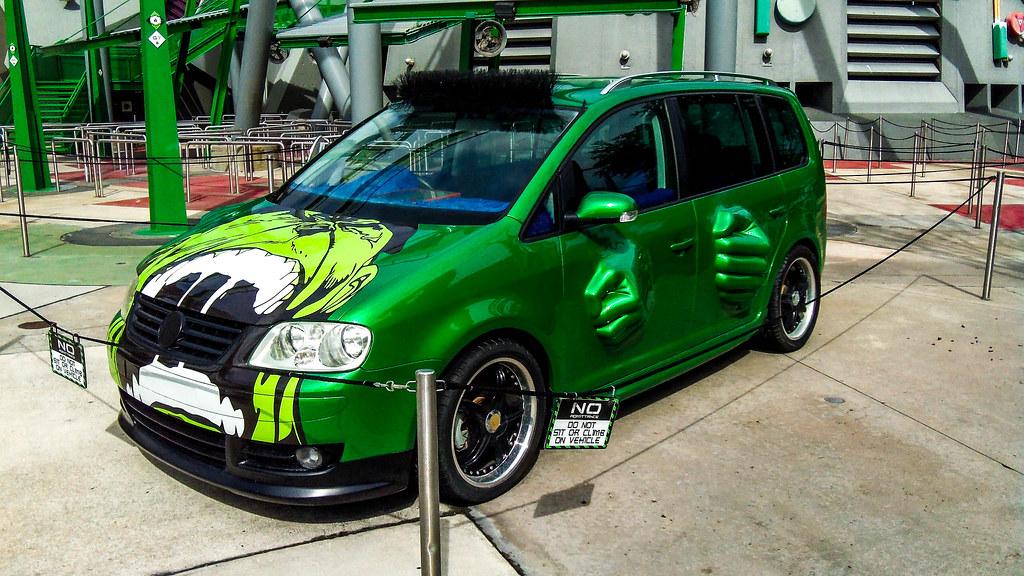 Hulk Car Tokyo Drift >> Incredible Hulk Car Islands of Adventure   Super Silly Fun Land   Flickr