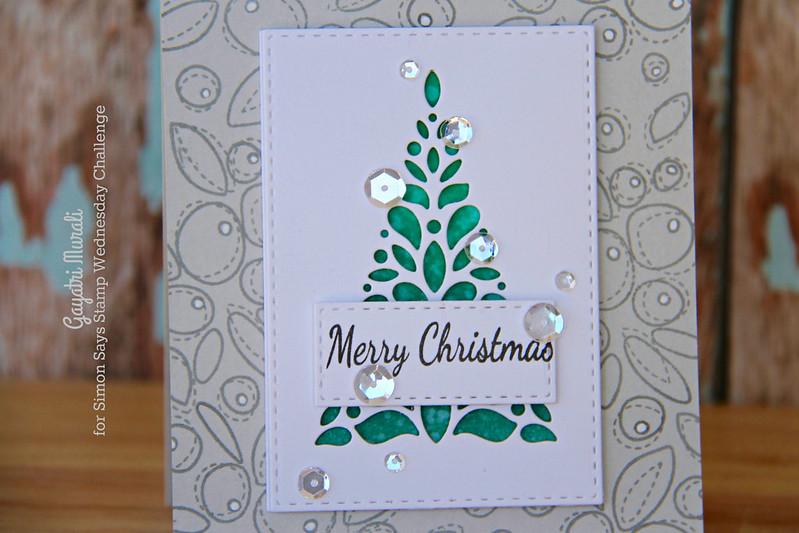 Merry Christmas corbel closeup