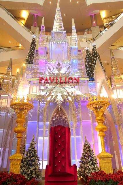 Frozen inspired Fairy Tale Castle