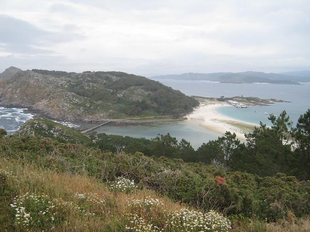 Playa de Rodas en el parque nacional de las Islas Cíes
