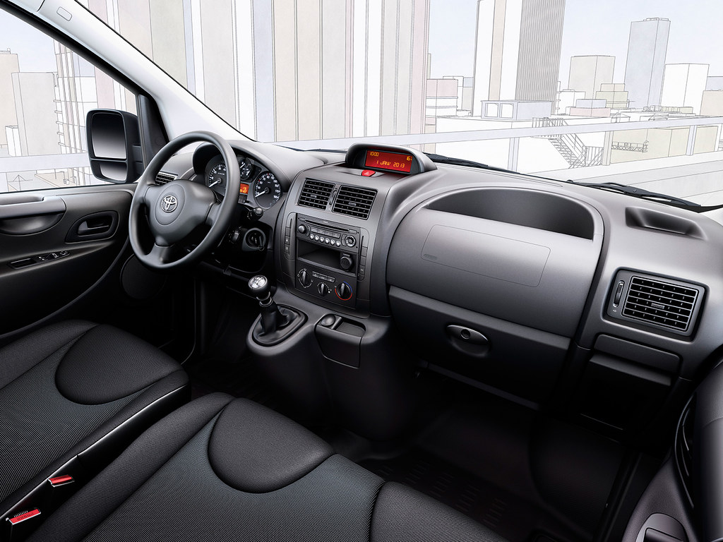 Toyota Proace 2013 Interior Toyota Motor Europe Flickr