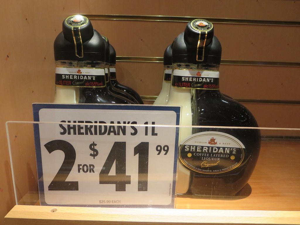 Sheridan S Coffee Layered Liqueur Carnival Glory Is A
