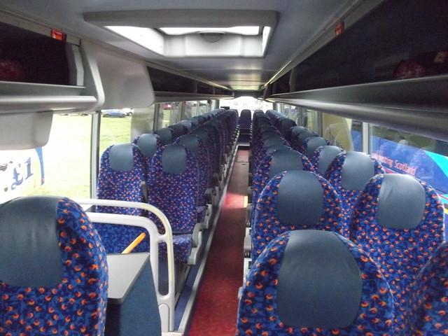 Megabus 55003 KX13 HYS interior | Seen at Showbus 2013 ...