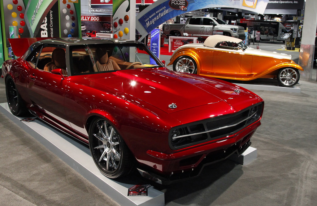 1967 Chevy Camaro Custom Sema Show 2013 Www Pinterest Com Flickr