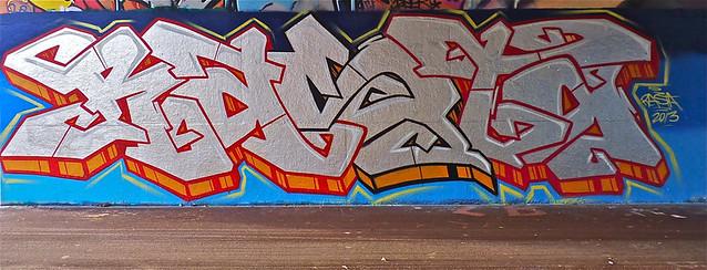 Den Haag Graffiti - RASTA | HOF Binckhorst | By: Akbar Sim ...