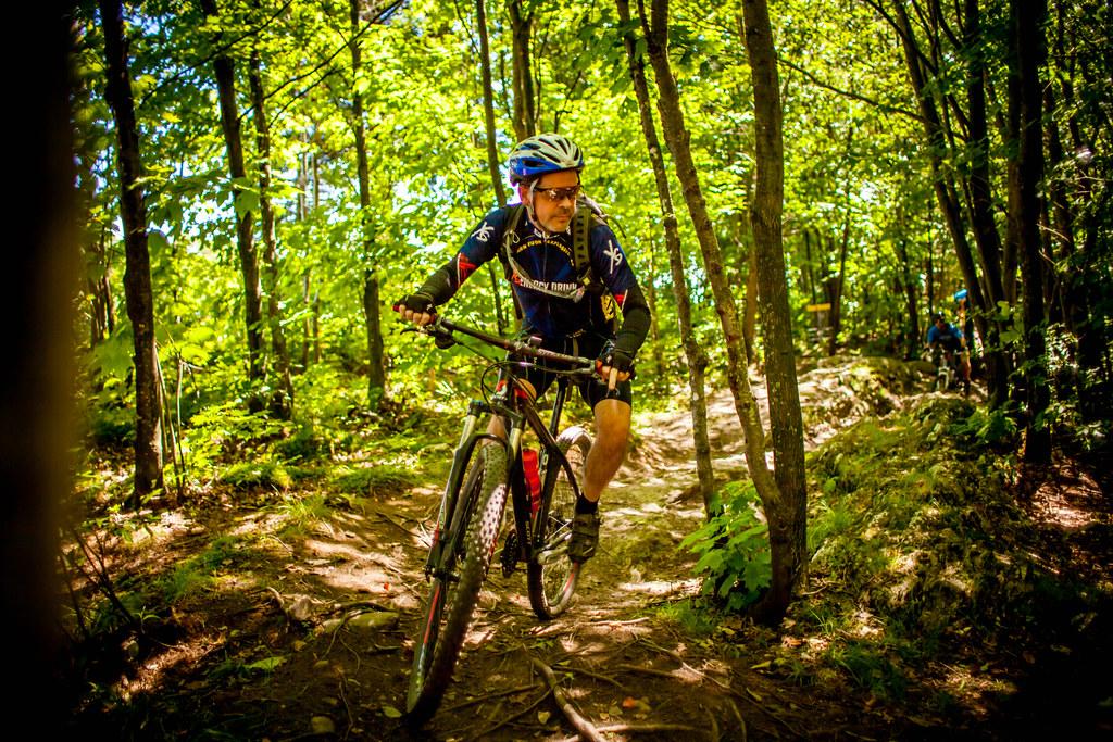 Vélo de montagne au Mont Arthabaska