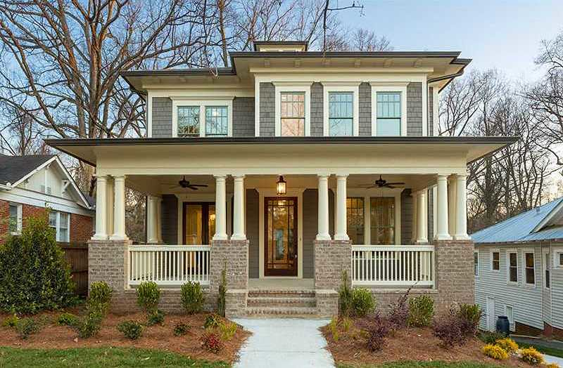 Virginia highland drewry street drewry st atlanta homes for Atlanta craftsman homes