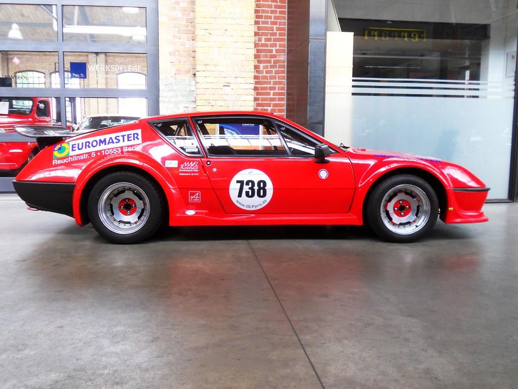 738 Alpine A310 S Group 4 Race Car With Street Reg