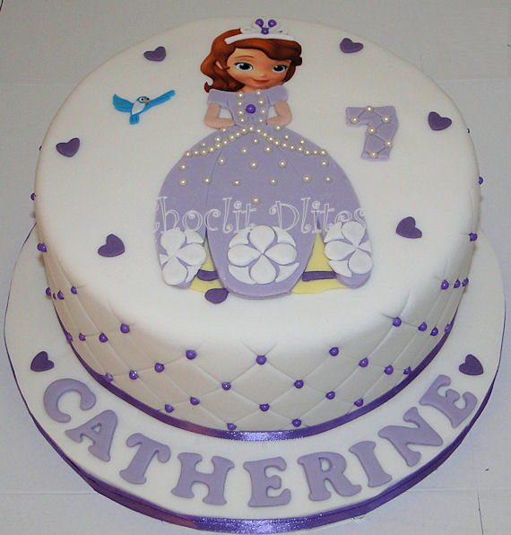 Sofia The First Doll Birthday Cake