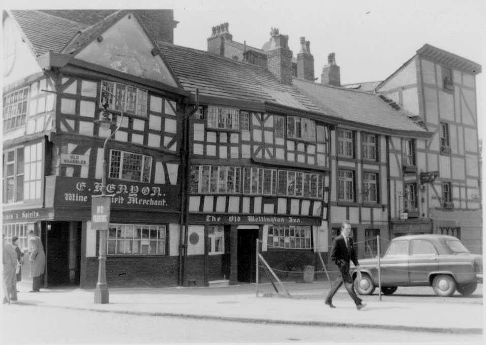"""Old Shambles"""", Old Market Place, Manchester, May 1958 