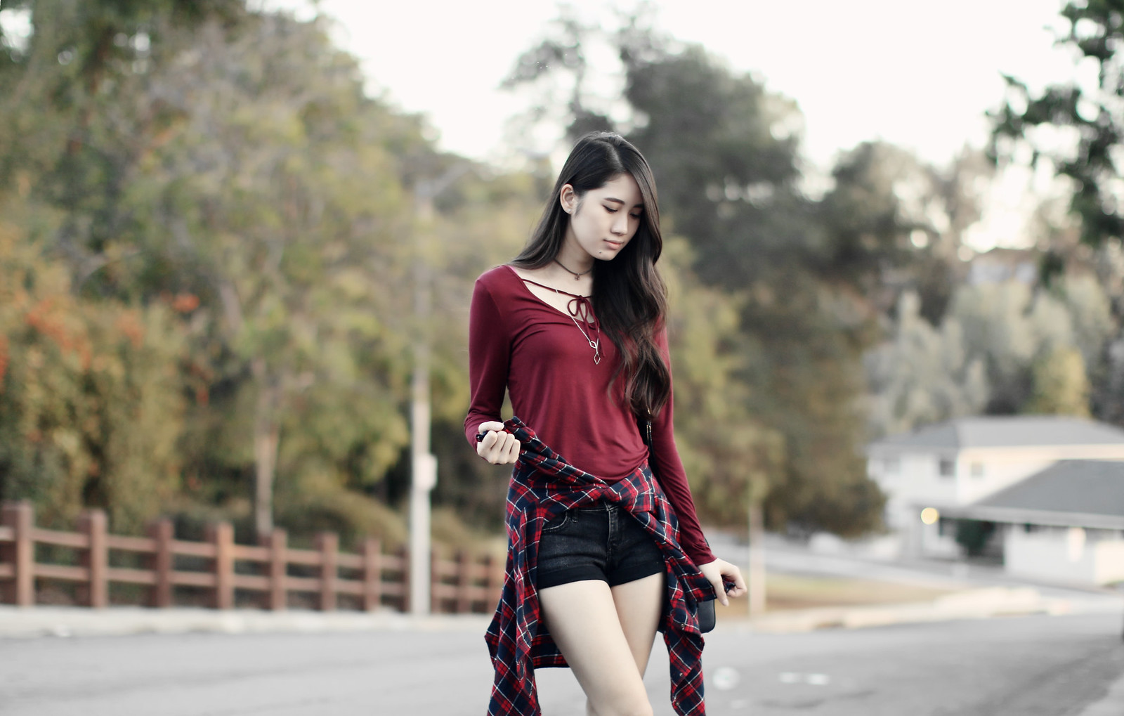 1132-fall-ootd-fashion-style-hollister-red-bowtie-autumn2016