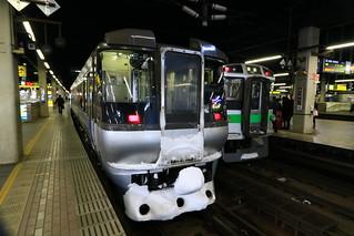 札幌駅 785系 スーパーカムイ15号