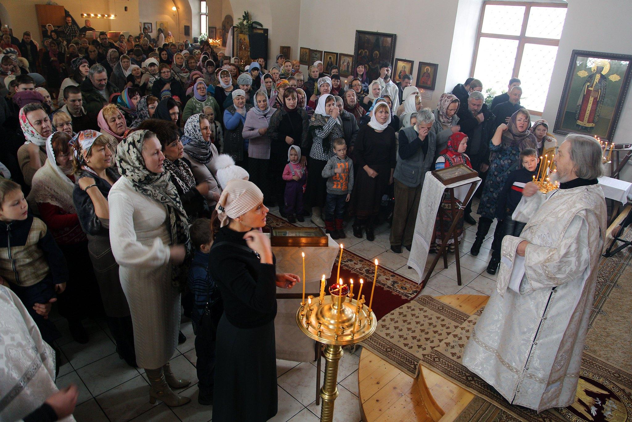 Епископ Воскресенский Савва совершил Великое освящение храма архангела Михаила в Кубинке