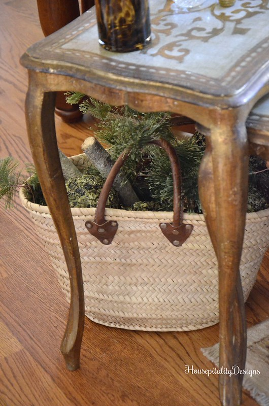 Florentine Nesting Tables - French Market Basket - Housepitality Designs