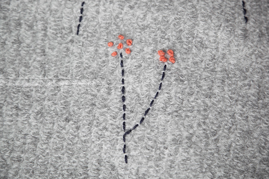 DIY Abrigo bordado · DIY Embroidered coat · Fábrica de Imaginación · Tutorial in Spanish