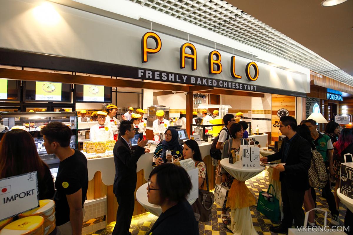 Pablo 1 Utama Freshly Baked Cheese Tart