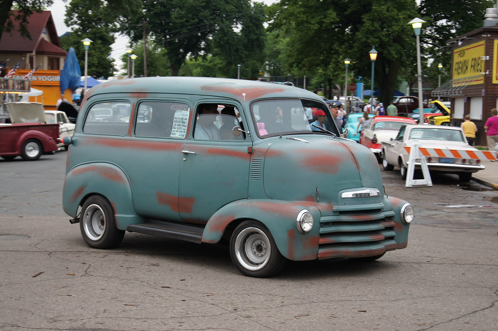 """New Chevy Truck >> 50 Chevrolet COE Suburban (Cab Over Engine) 