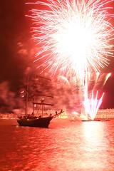 Fireworks - Greenwich Tall Ships Festival by EEPaul