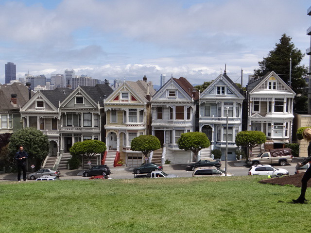 The Famous Houses You See In Sf Movies Alamo Square San