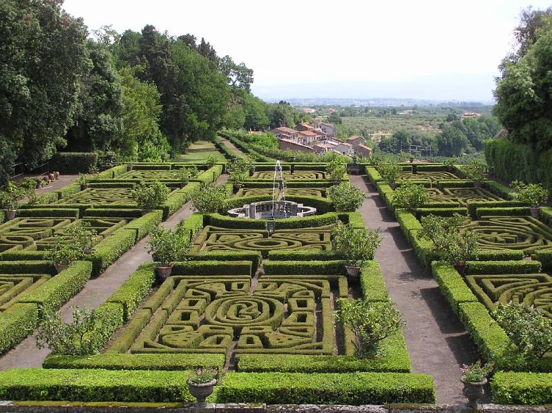 Giardino all italiana castello ruspoli vignanello vt for Giardino 3d gratis italiano