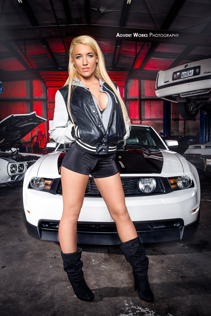 Kmess Amp Ford Mustang Kendra Messer With 2012 Ford