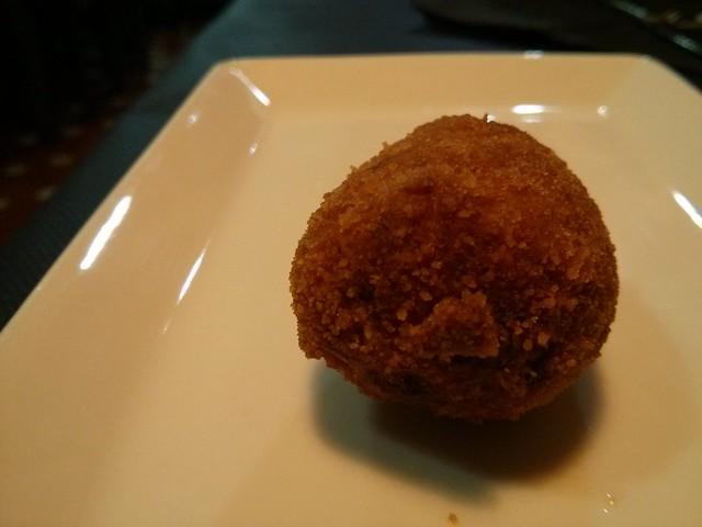 croqueta de cocido - cal cuc - castellón de la plana