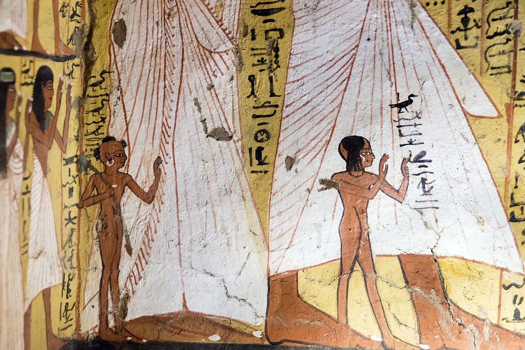 Tomb Of Pashedu Deir El Medina Tomb Of Pashedu Tt3 Pashed Flickr