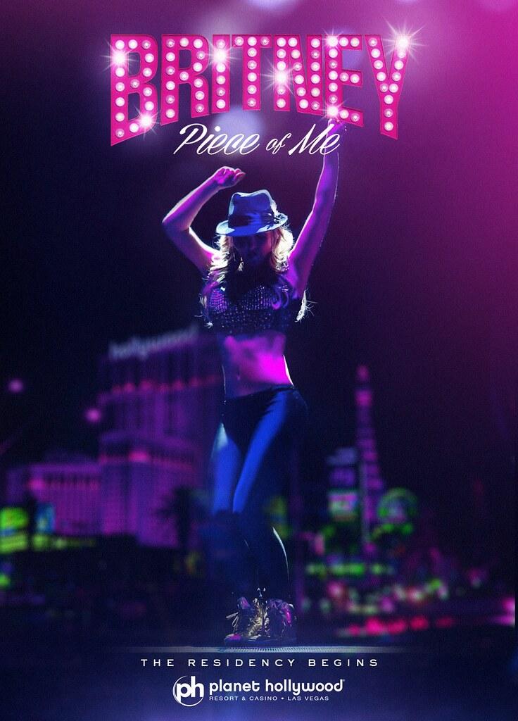 Britney Spears Vegas Britney Spears 'piece of me