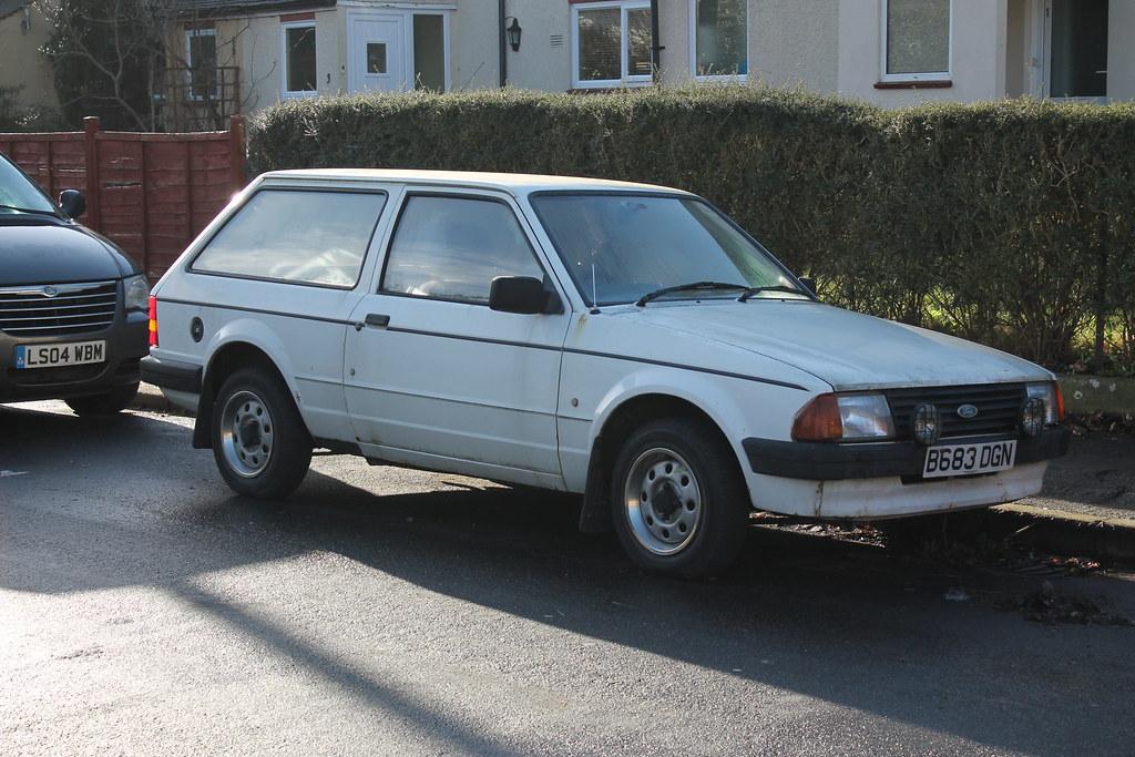 1985 Ford Escort Popular 1 1 Estate I Love The Mk 3 Ford
