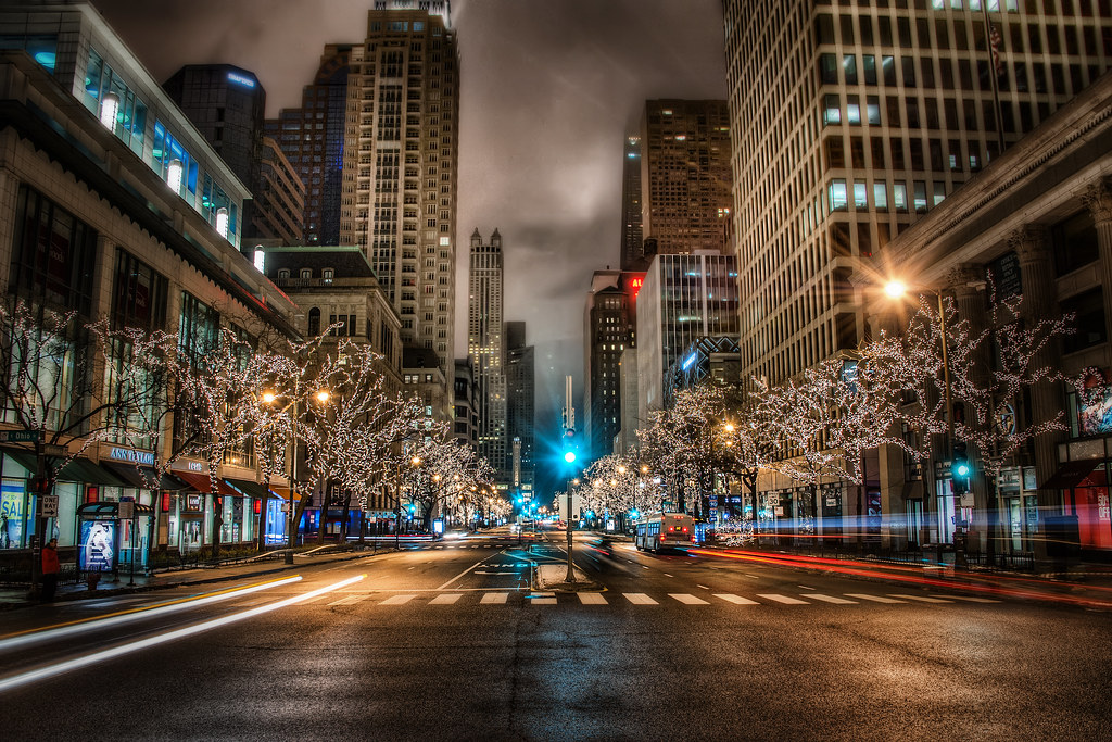 Chicago Christmas Lights