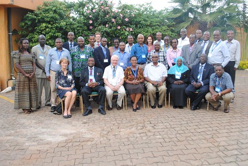 ILRI-SLU, FAO, AU-IBAR Rwanda regional back-to-back workshop participants