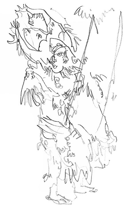 Festival Costumes Drawing Festival Sketches