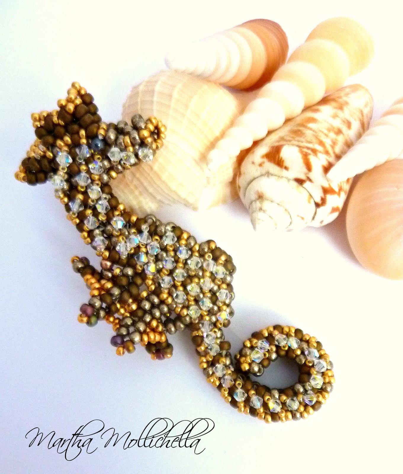 cavalluccio marino ippocampo by martha mollichella