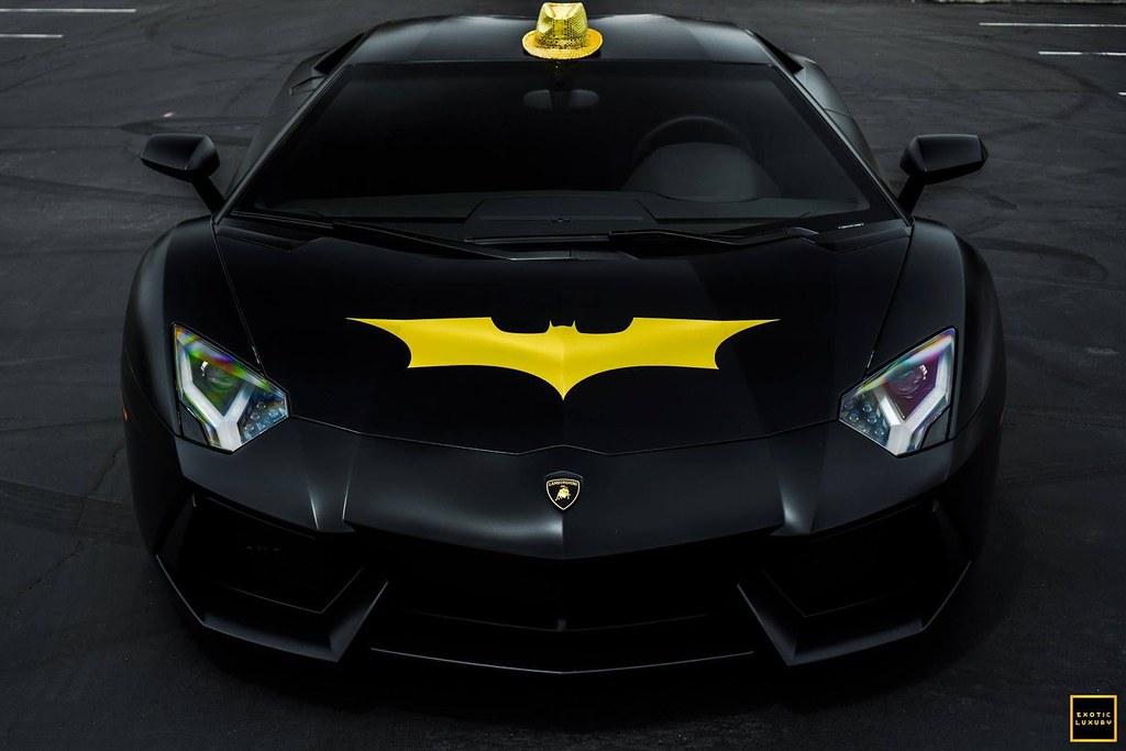 Batventador Check Out A Photoshoot With The Bat Car